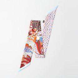 Silk Time Petit Tie Scarf
