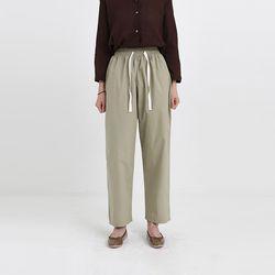 base cotton banding pants (3colors)