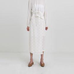 dot flap skirt (3colors)