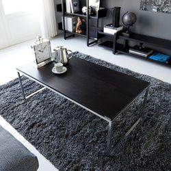 멀바우 크롬 블랙 거실 소파테이블 상판 36T