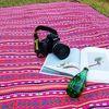 에스닉 피크닉 매트 야외 돗자리 3color
