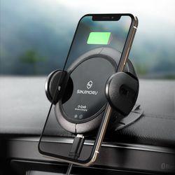 오그랩 차량용 무선충전 자동 스마트폰 거치대