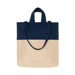 Jute Shopper Navy