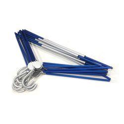 휴대용 접이식 옷걸이 10개 세트-Royal Blue