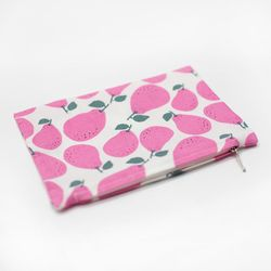 pink pear pouch