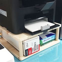 원목 프린터선반 프린터받침대 다용도선반