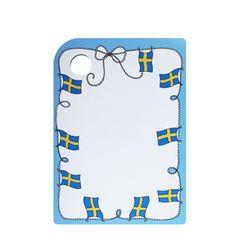 자작나무도마(중)-스웨덴국기