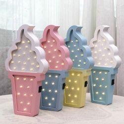 아이스크림 LED 인테리어 조명등 무드등