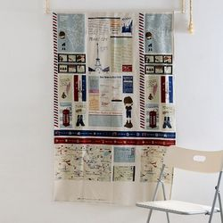 파리 린넨 가리개커튼 바란스 (80x130)