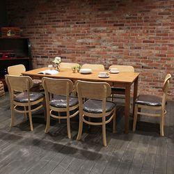이스테지아 원목 8인 식탁 세트 (피노)