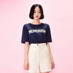 메모리즘 레터링 티셔츠