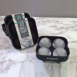 실리콘 아이스볼 트레이 (silicon ice ball tray)