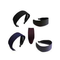 [오뜨르뒤몽드]wide color hairband (5colors)