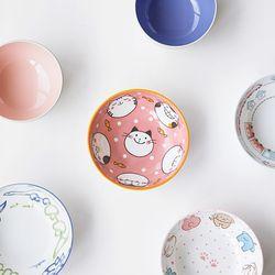 키즈 도자기 국그릇 대접 7종 JAPAN