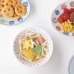 키즈 도자기 면기 파스타 큰접시 4종 JAPAN