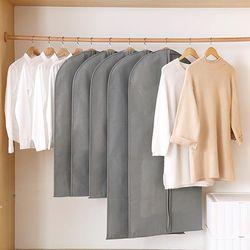 베이직 부직포 옷 커버 양복 덮개 L사이즈