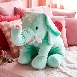자이언트엘리 빅사이즈 코끼리 동물 애착인형 민트