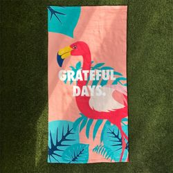 [유니온오브제] UNIONOBJET FLAMINGO BEACH TOWEL