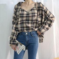Check SET shirt
