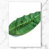 인테리어 식물 홀리데이즈 바나나 리프 엣지 액자 A3