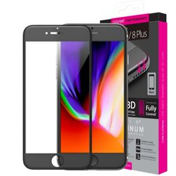 아라리 아이폰8플러스7플러스 강화유리 곡면풀커버 플래티넘