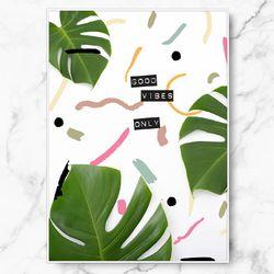 인테리어 식물 그림 썸머 페스타 A4 수지 액자