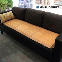 [한일카페트] 엘리 3단 대나무 방석 45x160cm