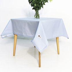 스카이블루 방수 테이블보 4인 130x160