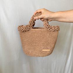 브로콜리 니팅백-4색상-뜨개가방
