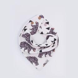 [율그란]오가닉 스카프빕베어 아이보리