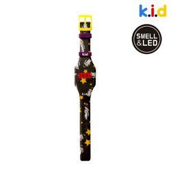 [시계] 스페이스맨 향기 솔솔 LED 시계(커피향)