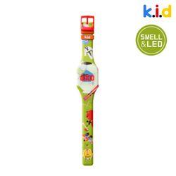 [시계] 스포츠 향기 솔솔 LED 시계 (허니피치향)