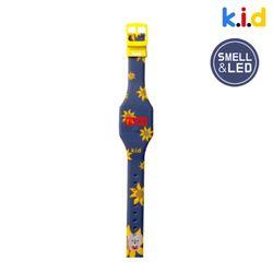 [시계] 해바라기 향기 솔솔 LED 시계(꽃향)