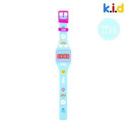 [시계] 민트 LED 시계 (블루베리향)