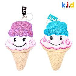 [키링] 반짝반짝 아이스크림 키링 2종