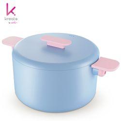 키아라 양수냄비 H20cm(블루)