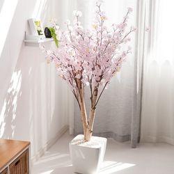 쌍대벚꽃나무 170cm 아크릴 5-5 [조화]