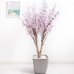 쌍대벚꽃나무 170cm 메탈 5-5 [조화]