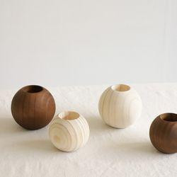 소나무 빈티지 촛대 (小)