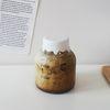눈금 밀폐 유리병 카페유리컵 우유병