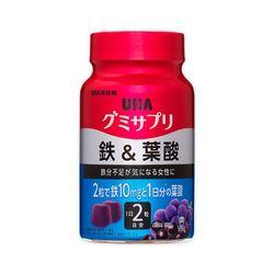 [UHA]구미 서플리 철&엽산(아사이 믹스맛) 30일분