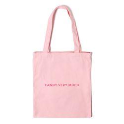 로고 에코백 LOGO ECO BAG - pink