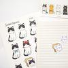 고양이5총사 스티커 - 5type