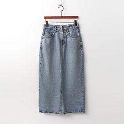 Long Maxi Denim Skirt