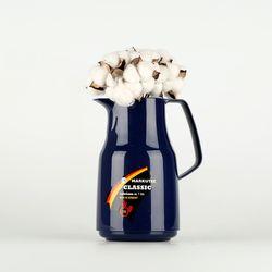 독일 진공유리 보온보냉주전자 - 클래식 1L (다크블루)