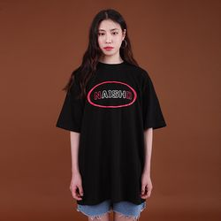 NAISHO BIG LOGO BLACK T-SHIRT