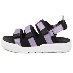 Three Strap Triangle OG PURPLE 스포츠 샌들 여자 샌달
