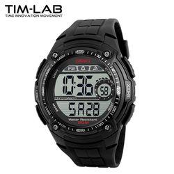 [TIM-LAB] 남성 스포츠시계 전자손목시계 방수 1203