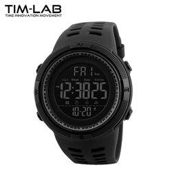 [TIM-LAB] 남성 스포츠시계 전자손목시계 방수 1251