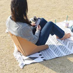 토트 종이등받이 의자 원플러스원
